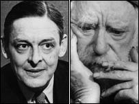 TS Eliot and Augustus John