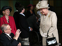 William Stone meets the Queen
