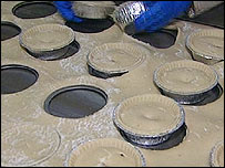 Holland's Pies being made