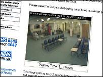 Hospital webcam