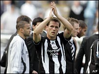 Newcastle United's Michael Owen