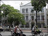 Danish embassy in Hanoi, Vietnam