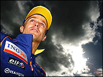 Heikki Kovalainen at Silverstone