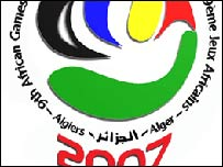 The 2007 All Africa Games logo