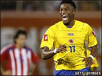 Edwin Chalar, futbolista colombiano