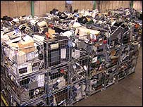 Electronic equipment in shopping trolleys