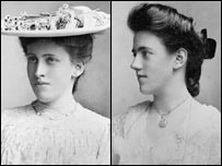 Margaret and Gwendoline Davies were born in the 1880s