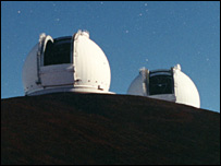 Keck twins (WM Keck Observatory)