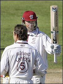 Justin Langer and Marcus Tresothick