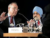 Panellists in Davos