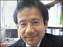 Japanese lawmaker Kan Suzuki