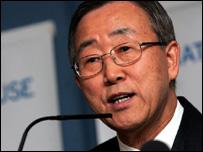 Ban Ki Moon (Image: PA)
