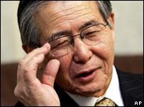 Ex presidente de Perú, Alberto Fujimori