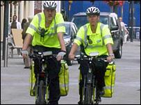 Cycling paramedics