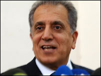 US Ambassador to Iraq Zalmay Khalilzad