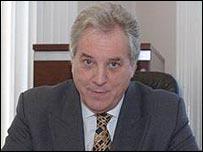 Irish FA chief executive Howard Wells
