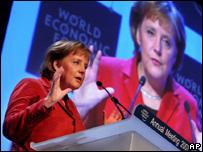Angela Merkel at Davos 2007