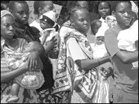 Under-age mothers in Mtondia, Kenya