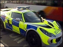 Lotus police car
