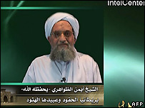 Ayman al-Zawahiri in internet recording released 10/07/2007