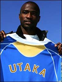 Nigeria striker John Utaka