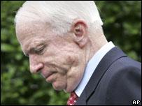 John McCain in Washington, 11 July 2007