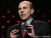 Motorola chief executive Ed Zander