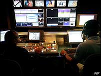 Sala de control máster de RCTV