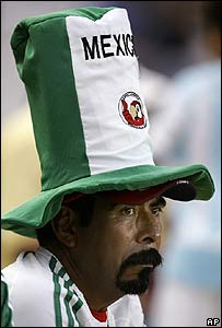 Seguidor del equipo mexicano