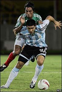 Jamie Correa u Juan Román Riquelme