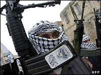 Fatah fighters