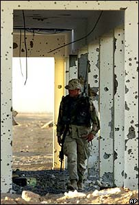 US Marine in southern Afghanistan (file photo)