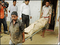 Suspected body of Phul Chand Ram