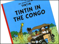 Bid to ban 'racist' Tintin book
