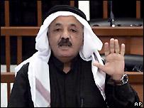 نائب الرئيس العراقي السابق طه ياسين رمضان