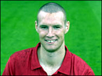 Walsall striker James Constable