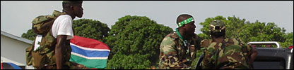 Soldiers in The Gambia