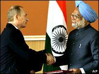 Putin-Singh