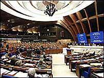 На заседании ПАСЕ в Страсбурге