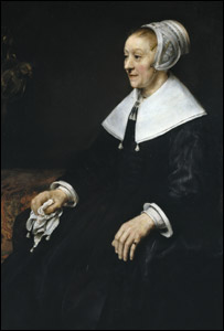 The Portrait of Catrina Hooghsaet. Photo: Rijksmuseum