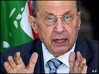 Michel Aoun, file photo