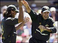 Andrew Symonds and Ricky Ponting