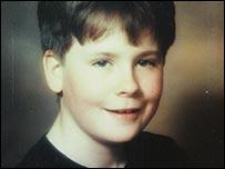 Nick Palmer aged 11