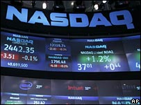 Nasdaq stock exchange boards
