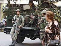 Lebanese army in Beirut, 26/1/2007