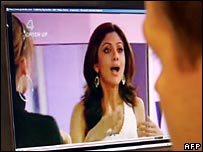 Shilpa Shetty on Big Brother