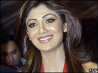 Celebrity Big Brother's Shilpa Shetty