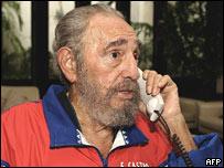 Fidel Castro, en foto del 28 de octubre de 2006