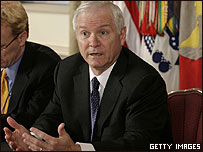 Robert Gates, scretario de Defensa de EE.UU.