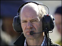 Red Bull Racing technical director Adrian Newey.